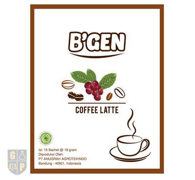 B'GEN Coffe Latte