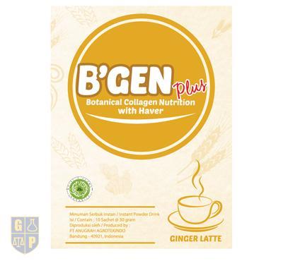 B'GEN Plus Ginger Latte