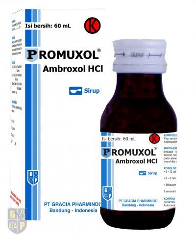 Promuxol sirup 60 ml