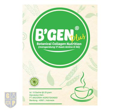 B'GEN Plus Green Tea Latte