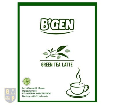 B'GEN Green Tea Latte
