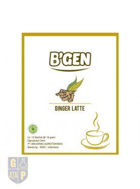 B'GEN Ginger Latte