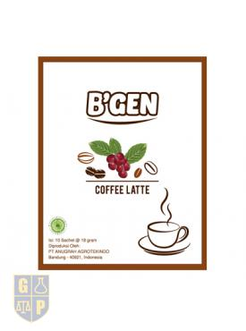 B'GEN Coffe Latte