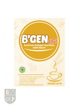 B'GEN Plus Ginger Latte