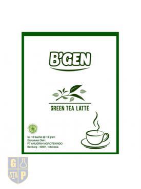 B'GEN Green Tea Latte